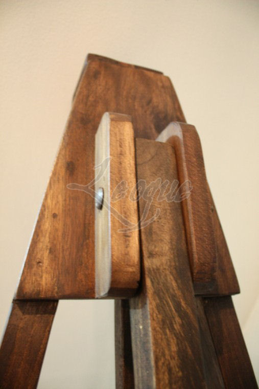 Tripod Wooden Display Easel Adjustable Wood Grip Leoque