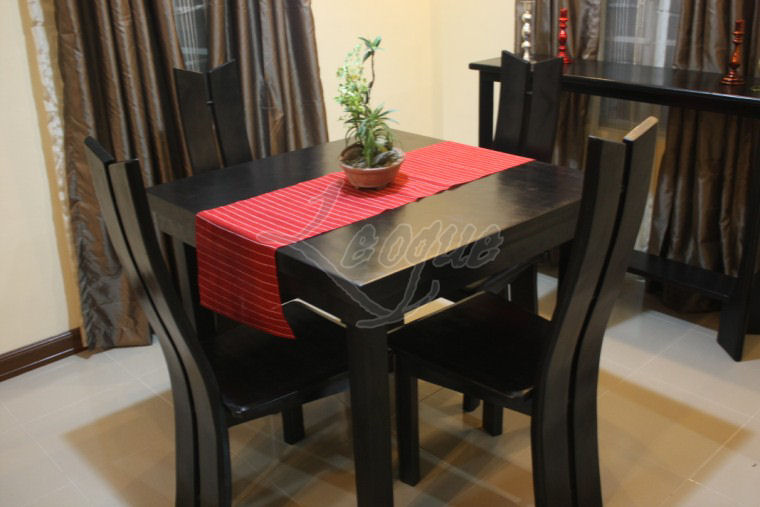 4 Seater Dining Table Set W Chairs Leoque Collection