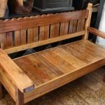 hardwood-park-bench