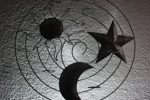 Wrought Iron Wall Decor for Outside