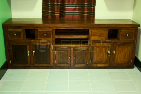 ... antique-copy-tv-rack-cabinet-2 ... - Antique Furniture Repro, Tv Stand With Cabinets : Leoque Collection