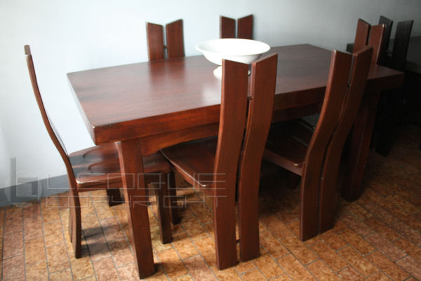 chealsea dining table 6 dining chairs leoque collection