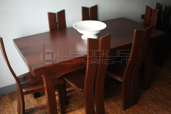 Chealsea Dining Table 6 Dining Chairs Leoque