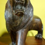 lion-woodwork-wood-carving