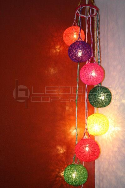 Native chandelier sphere balls lighting, 7 balls : Leoque ...