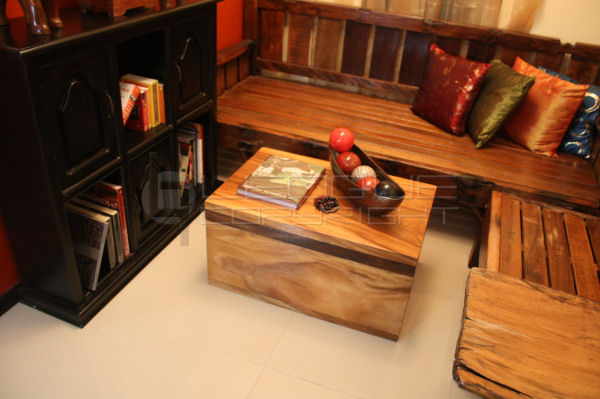 Coffee Table With Storage Big Storage Wooden Chest Solid