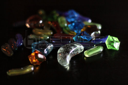 Glass Pebbles Leoque Collection One Look One Collection