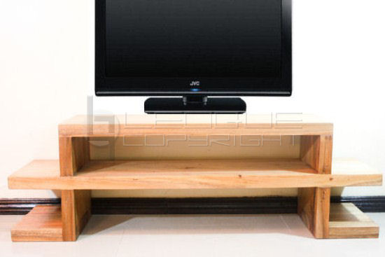 "QUIQUE-TV"" Solid-make low console, TV table : Leoque Collection ..."
