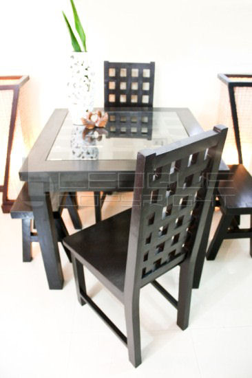 Cc Bat Stylish Set Up Dining Table 4 Seater With 2 Host