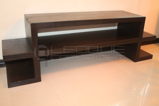 Quique Tv Solid Make Low Console Tv Table Leoque Collection