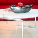 kurbata-center-table-stainless-stand
