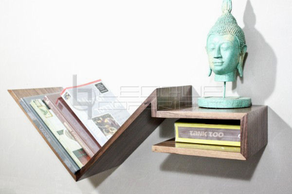 wall-mounted shelving & racks : leoque collection – one look, one