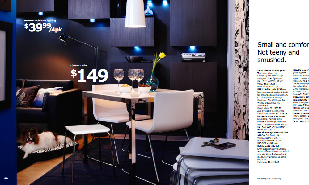 glass dining tables in ikea catalogue 2010 image download