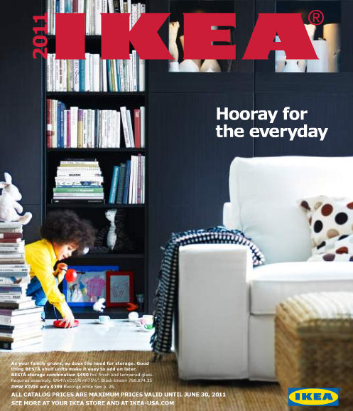2011 ikea online furniture catalog. I wrote about the lauch of the IKEA