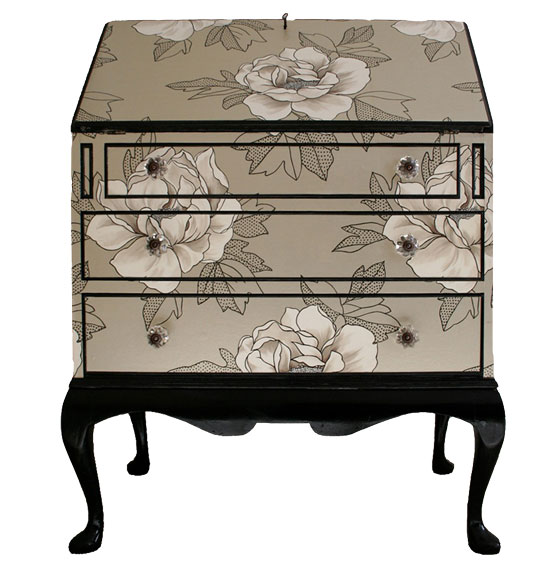 House of Leoque Wallpapered Furniture