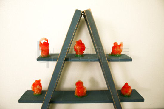 Mini Ladder Display Rack Leoque Collection One Look