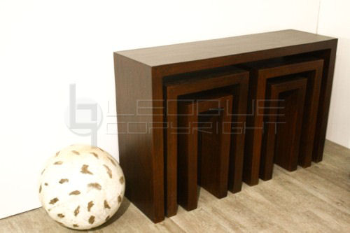 Nesting Console Tables