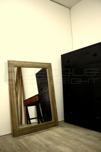 32 Inches By 44 Inches Big Modern Mirror Leoque