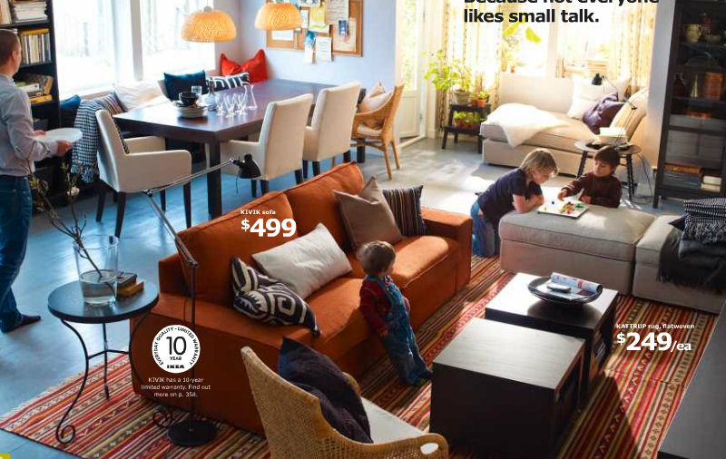 Finally Ikea 2012 Catalog Online A Home Doesn T Need To