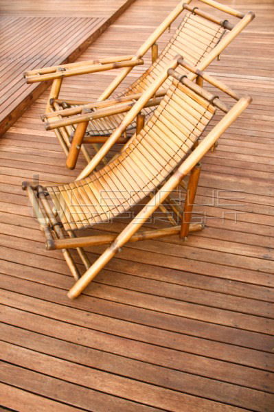 Eco Friendly Relaxing Bamboo Lounger For Your Deck, Outdoor, Garden And  Even Indoors. It Folds Flat (as Shown), Can Be Kept In Extreme Conditions  Like Storm ...