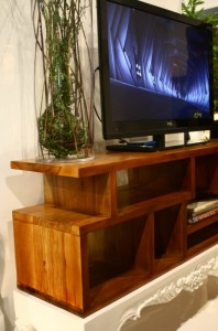 Enkar Tv Table Narra Wood With Carving Leoque