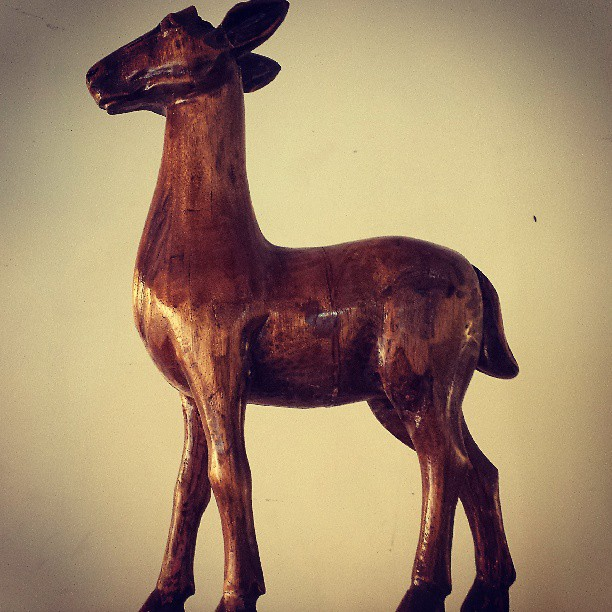 Paete pony #horse #pony #paete #woodwork #sculpture #animal #instadaily #wood #scrapart