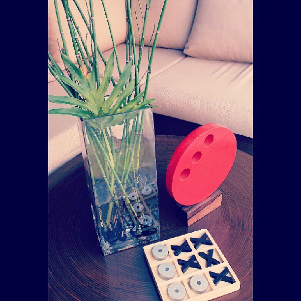 Good morning... #instore #showfront #zen #bamboo #plants #tictactoe #livingspace #rattan #instadaily #vase #sofa