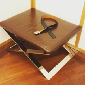 louis vuitton stool spotted