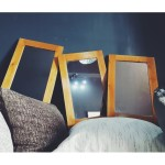 3 pieces rectangular mirrors set