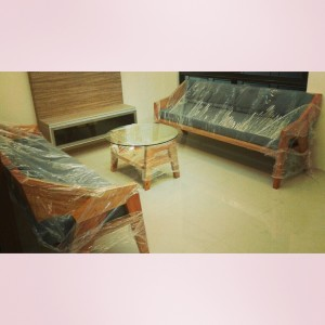 Custom furniture, living set, center table