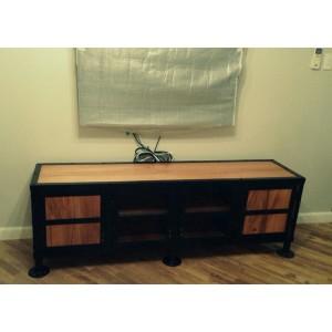 TV Entertainment Console Cabinet