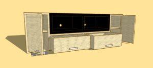 DAWSAN TV Cabinet