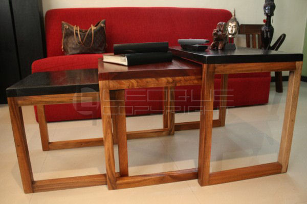 """""""MONICA"""" Nesting Side Tables or Center Tables : Leoque ..."""